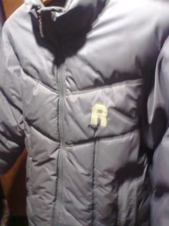 Продам зимнюю куртку пуховик б/у на мальчишку 7-10 лет. Лисичанск. фото 1