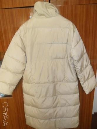 Пальто на синтепоне,застежка на кнопках, два кармана спереди на молнии, плечи 50. Ирпень, Киевская область. фото 3