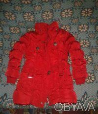 Срочно продам теплое пальто на девочку. Одесса. фото 1