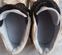 Продам качественные демисезонные ботинки,р.24-25,по стельке 15-15,5 см,бежевого(. Чернигов, Черниговская область. фото 11