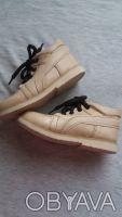 Продам качественные демисезонные ботинки,р.24-25,по стельке 15-15,5 см,бежевого(. Чернигов, Черниговская область. фото 5