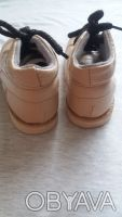 Продам качественные демисезонные ботинки,р.24-25,по стельке 15-15,5 см,бежевого(. Чернигов, Черниговская область. фото 3