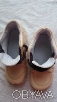 Продам качественные демисезонные ботинки,р.24-25,по стельке 15-15,5 см,бежевого(. Чернигов, Черниговская область. фото 8
