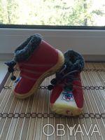 Почти новые ботинки утеплённые с термовойлоком размер 15 стелька 13 см очень ус. Киев, Киевская область. фото 4