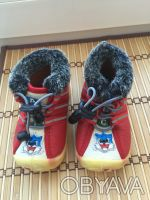 Почти новые ботинки утеплённые с термовойлоком размер 15 стелька 13 см очень ус. Киев, Киевская область. фото 3
