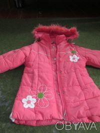 куртка на девочку 5-7 лет ,в хорошем состоянии,почти новая,носилась мало,капюшон. Сумы, Сумская область. фото 4