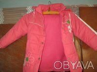 куртка на девочку 5-7 лет ,в хорошем состоянии,почти новая,носилась мало,капюшон. Сумы, Сумская область. фото 6