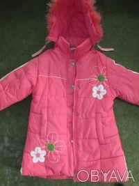 куртка на девочку 5-7 лет ,в хорошем состоянии,почти новая,носилась мало,капюшон. Сумы, Сумская область. фото 2