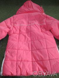 куртка на девочку 5-7 лет ,в хорошем состоянии,почти новая,носилась мало,капюшон. Сумы, Сумская область. фото 5