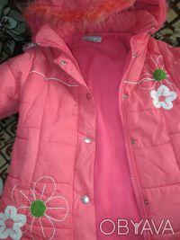 куртка на девочку 5-7 лет ,в хорошем состоянии,почти новая,носилась мало,капюшон. Сумы, Сумская область. фото 7