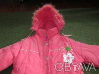 куртка на девочку 5-7 лет ,в хорошем состоянии,почти новая,носилась мало,капюшон. Сумы, Сумская область. фото 3