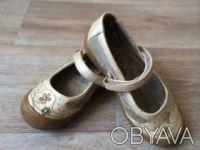 Туфли Балетки детские для девочки Canoa, р.25, цвет:беж, б/у, в хорошем состояни. Днепр, Днепропетровская область. фото 2