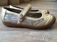 Туфли Балетки детские для девочки Canoa, р.25, цвет:беж, б/у, в хорошем состояни. Днепр, Днепропетровская область. фото 3
