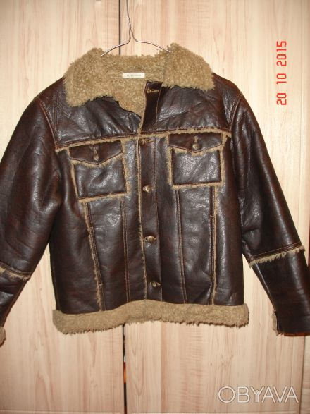 Курточка для мальчика, осень, в очень хорошем состоянии. Длина 50см, ширина в пл. Харьков, Харьковская область. фото 1
