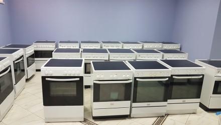 Электрическая плита Electrolux Voss (Дания) поверхность стеклокерамика б/у. Киев. фото 1