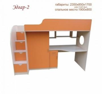 кровать-чердак Эдгар 2. Львов. фото 1