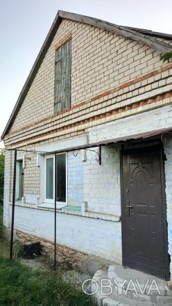 Часть дома, Чернобаевка, 3 комнаты, все удобства, кирпич, газ, м/п окна, без рем. Чернобаевка, Херсонская область. фото 1