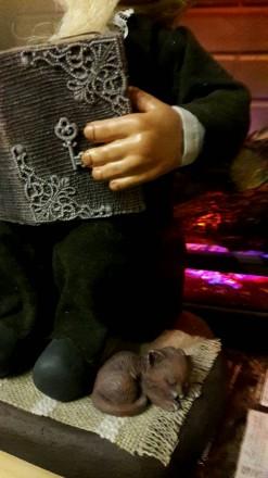 Интерьерная кукла около 30см. Поселившись в вашем доме будет оберегать его и соз. Днепр, Днепропетровская область. фото 4