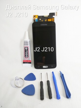 Дисплей, модуль, экран для Samsung Galaxy J2 J210 2016 год чёрный Если вы случа. Киев, Киевская область. фото 2