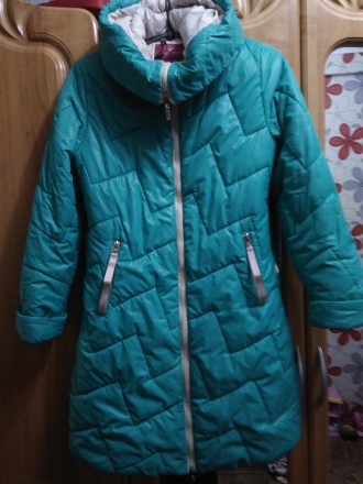 Зимняя куртка пальто 146. Каменка-Днепровская. фото 1