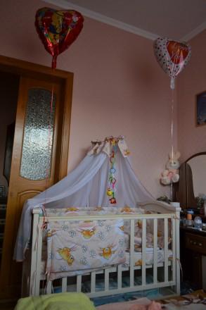Детская кроватка. Чернигов. фото 1