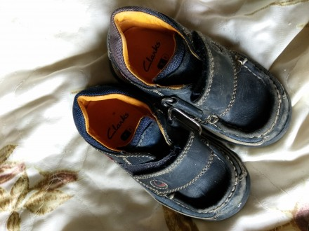Кроссовки кожаные 15 см. Кременчуг. фото 1