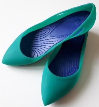 Женские балетки Crocs Rio Flat, размер 8. Киев. фото 1