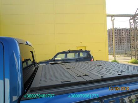 Алюминиевая крышка багажника кузова для пикапа. Выполняется в нескольких модифик. Киев, Киевская область. фото 12