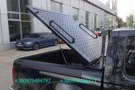 Алюминиевая крышка багажника кузова для пикапа. Выполняется в нескольких модифик. Киев, Киевская область. фото 7