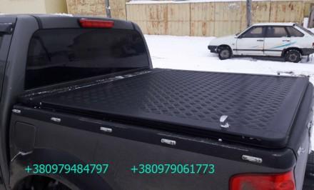 Алюминиевая крышка багажника кузова для пикапа. Выполняется в нескольких модифик. Киев, Киевская область. фото 3