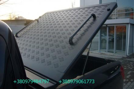 Алюминиевая крышка багажника кузова для пикапа. Выполняется в нескольких модифик. Киев, Киевская область. фото 2