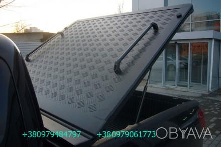 Алюминиевая крышка багажника кузова для пикапа. Выполняется в нескольких модифик. Киев, Киевская область. фото 1