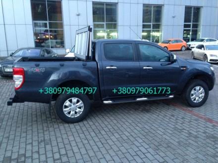 Алюминиевая крышка багажника Volkswagen Amarok, крышка кузова для пикапа Фольцва. Киев, Киевская область. фото 10