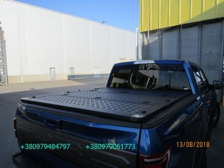 Алюминиевая крышка багажника Volkswagen Amarok, крышка кузова для пикапа Фольцва. Киев, Киевская область. фото 4