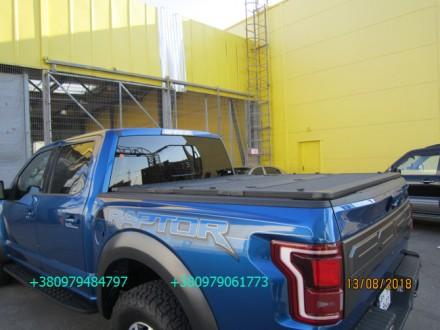 Алюминиевая крышка багажника Volkswagen Amarok, крышка кузова для пикапа Фольцва. Киев, Киевская область. фото 5