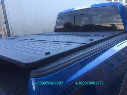Алюминиевая крышка багажника Volkswagen Amarok, крышка кузова для пикапа Фольцва. Киев, Киевская область. фото 6