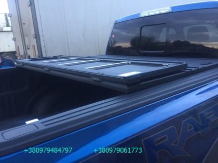 Алюминиевая крышка багажника Volkswagen Amarok, крышка кузова для пикапа Фольцва. Киев, Киевская область. фото 7