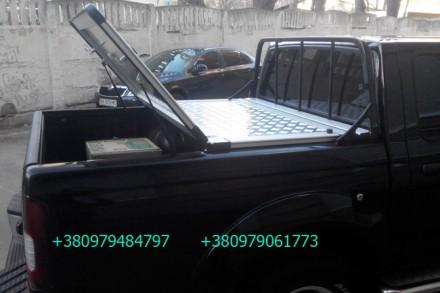 Алюминиевая крышка багажника Volkswagen Amarok, крышка кузова для пикапа Фольцва. Киев, Киевская область. фото 13