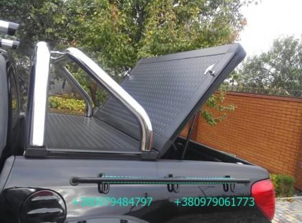 Алюминиевая крышка багажника кузова с дугой для пикапа (все модели). Предлагаетс. Киев, Киевская область. фото 5