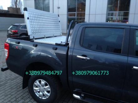 Алюминиевая крышка багажника кузова с дугой для пикапа (все модели). Предлагаетс. Киев, Киевская область. фото 9