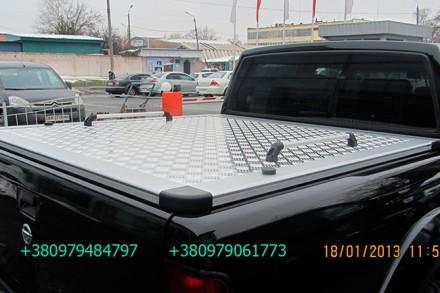 Алюминиевая крышка багажника кузова с дугой для пикапа (все модели). Предлагаетс. Киев, Киевская область. фото 13