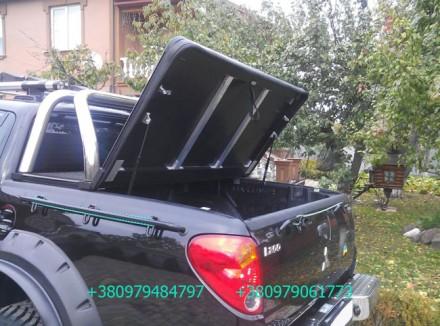 Алюминиевая крышка багажника кузова с дугой для пикапа (все модели). Предлагаетс. Киев, Киевская область. фото 4