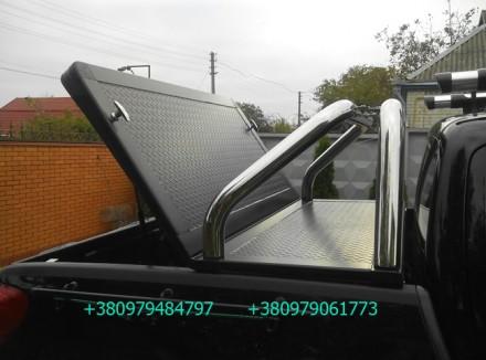 Алюминиевая крышка багажника кузова с дугой для пикапа (все модели). Предлагаетс. Киев, Киевская область. фото 6