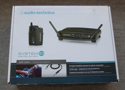 Радіосистема цифрова Audio Technica ATW-1101/G 2.4 GHz для гітари або інструмент. Львов, Львовская область. фото 2