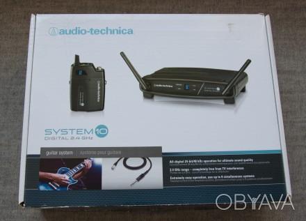 Радіосистема цифрова Audio Technica ATW-1101/G 2.4 GHz для гітари або інструмент. Львов, Львовская область. фото 1