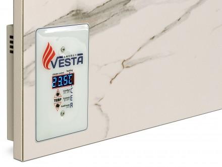 Инфракрасный умный Керамический Обогреватель Vesta Energy PRO 700 с терморегулят. Киев, Киевская область. фото 2