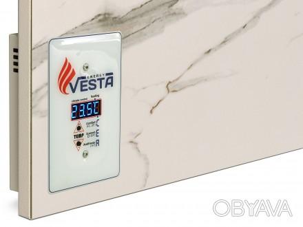 Инфракрасный умный Керамический Обогреватель Vesta Energy PRO 700 с терморегулят. Киев, Киевская область. фото 1