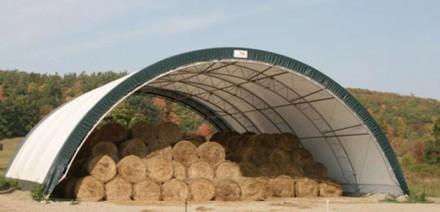Каркасно-тентовые сооружения очень активно применяются в сельском хозяйстве и жи. Киев, Киевская область. фото 5