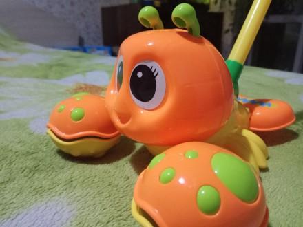 Музыкальные игрушки-каталки для детей от 3+. Запорожье. фото 1
