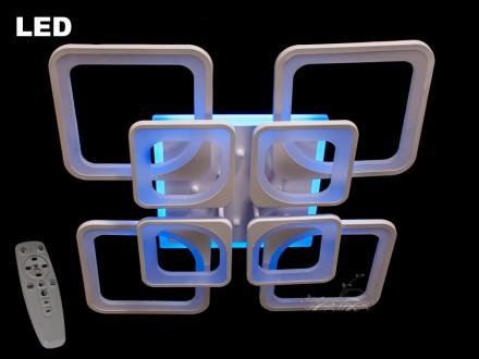 LED Люстра 190 w ! Интернет-магазин. Днепр. фото 1